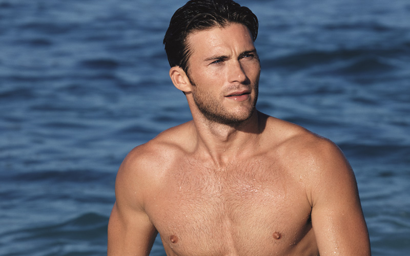 Scott Eastwood – noua imagine a parfumului Davidoff Cool Water